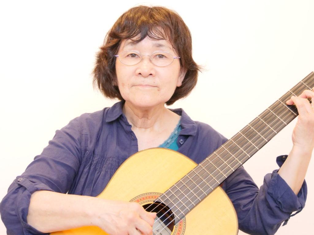 クラシックギター科 櫛来和子さん