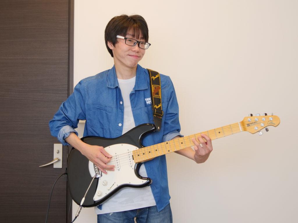 エレキギター科 坪野悟史さん