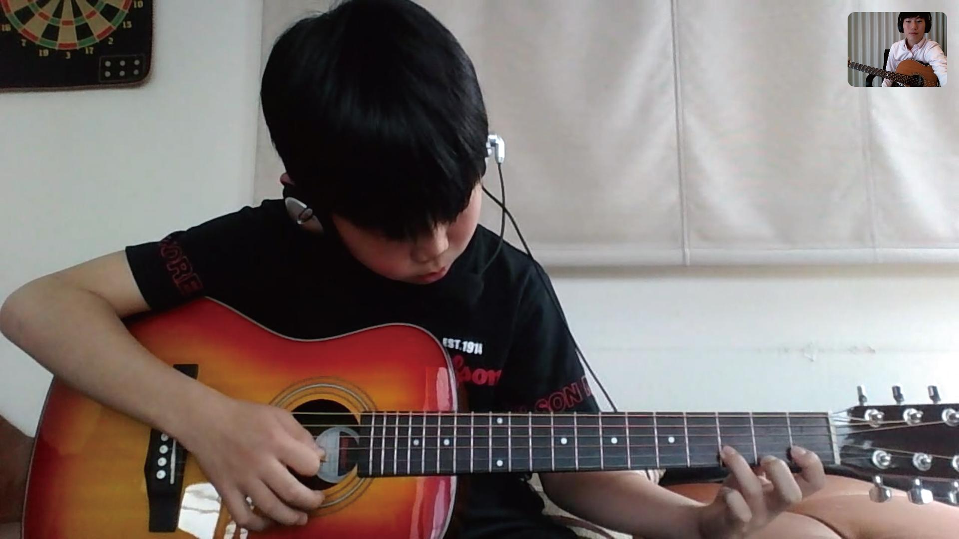 スカイプを使ったギターのオンラインレッスン