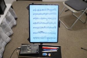 楽譜の電子化