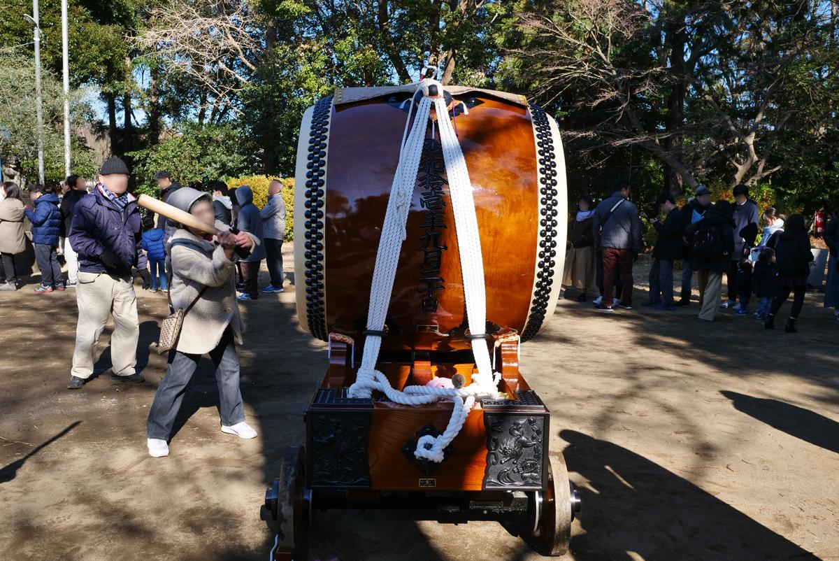 杉山神社の太鼓