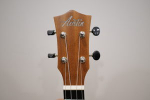 Austinのコンサートウクレレのヘッド