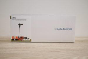 オーディオテクニカのピンマイク、AT831bの箱