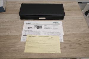 オーディオテクニカのピンマイク、AT831bの内箱