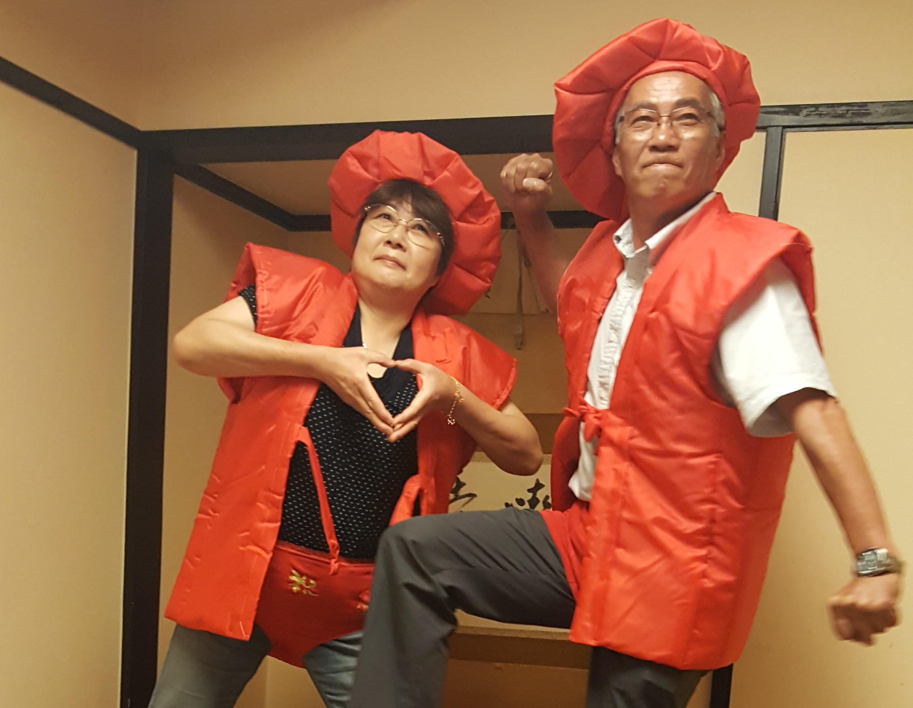 還暦祝いの父と叔母