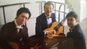卒業演奏会の時の写真