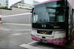 長野行きのバス