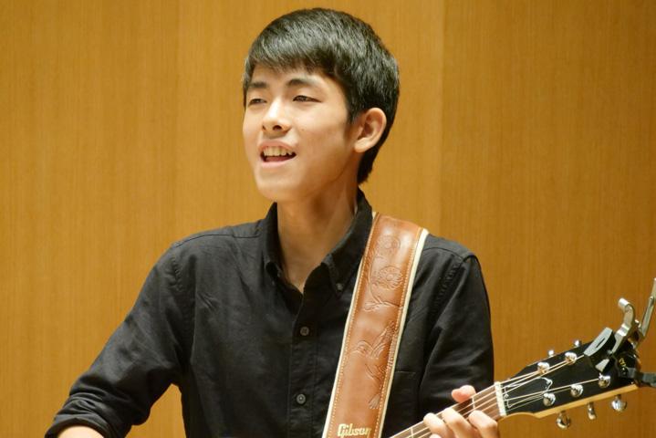 ギターボーカル、竹田裕樹
