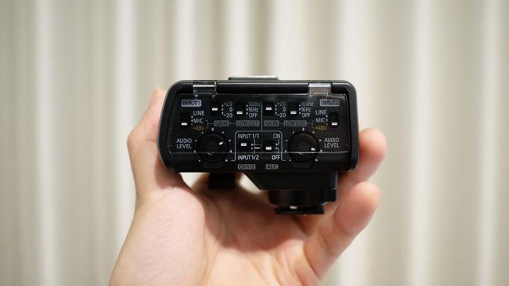 Panasonicのマイクロフォンアダプター「DMW-XLR1」