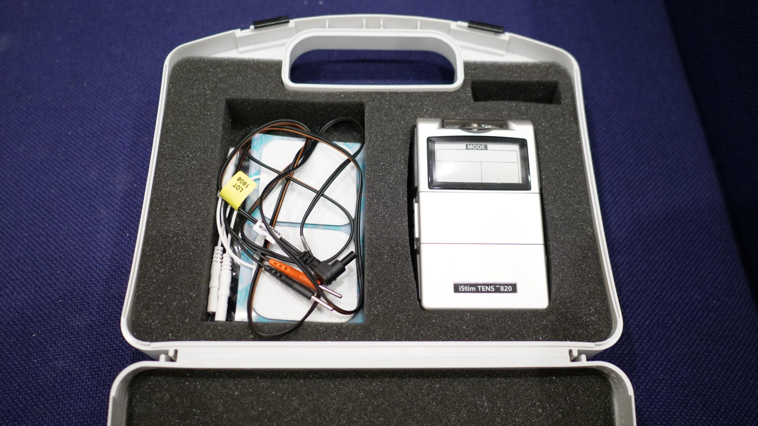 iStimの低周波マッサージ機「EV-820 TENS Massage Machine」