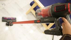iwolyの軽量コードレス掃除機